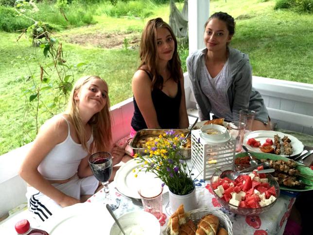 Mina tre yngsta, underbara flickor