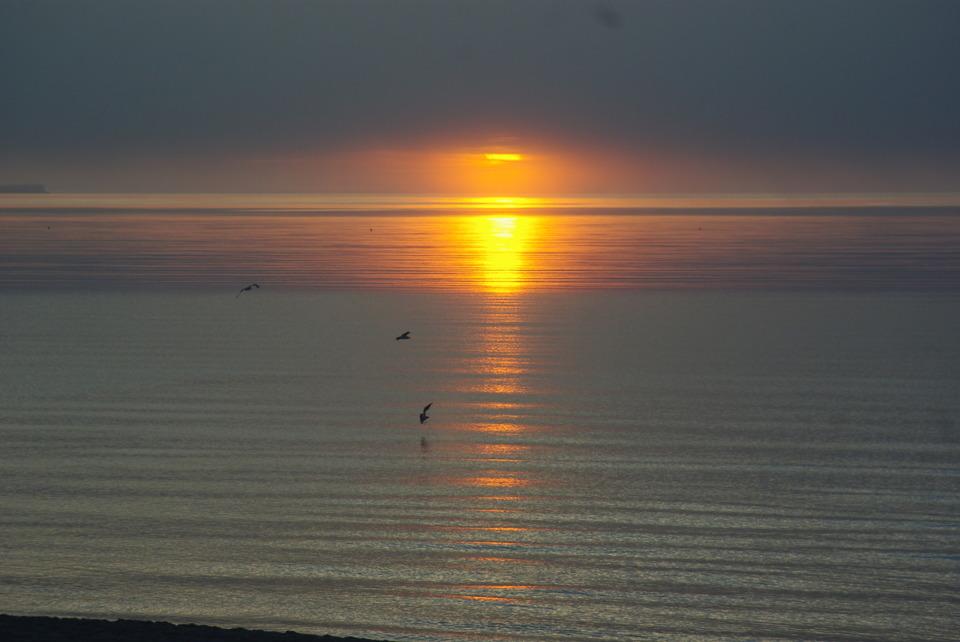 Soluppgång på Böda Sand