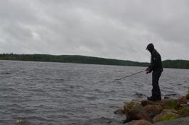 Stenälven som rinner genom Hån är ett av de 175 fiskevattnen i Säfsen.