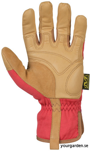 Red glove back