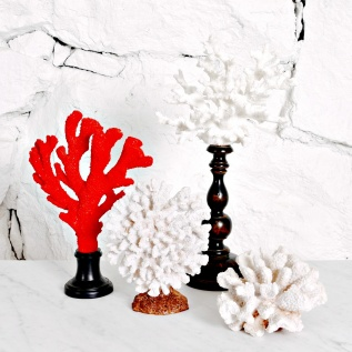 Koraller, dekoration