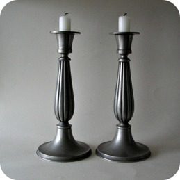 Edvin Ollers a pair of candlesticks candleholders ..........950 SEK