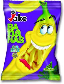 Jake-påsar - Sockrade Bananer