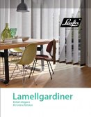 Produktblad Lamellgardiner