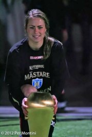 Johanna är en av åtta spelares på landslagsuppdrag