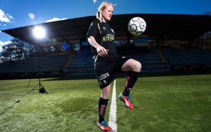 Marie Hammarström segerskytt mot Norge.