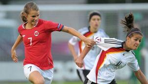 Andrine Hegerberg har representerat många norska ungdomslandslag under sin karriär.