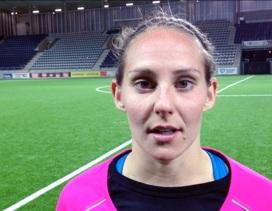 Manon Melis enda målskytten för KGFC i förlustmatchen mot Linköping.