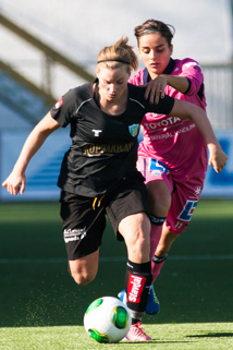 Sara Lindén målskytt mot Linköping.
