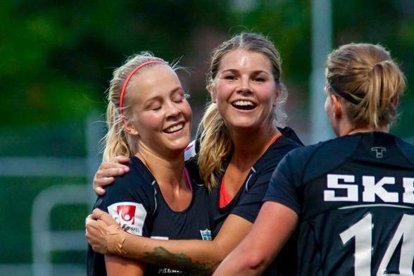 """Andrine Hegerberg ser fram emot matchen mot Mallbacken på torsdagen. """"Vi vill spela bra i alla matcher som återstår av serien, det finns fortfarande mycket att spela om"""", säger hon. Foto: PER MONTINI"""