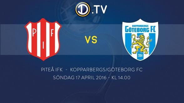 Första chansen att se KGFC live i Damallsvenskan.tv är nu på söndag den 17 april. Då möter vi Piteå på bortaplan klockan 14.00.