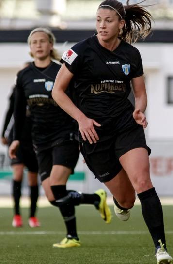 Pauline Hammarlund gjorde en mycket bra match mot Örebro på lördagen. Det enda som fattades var pricken över i. Men den pricken kommer, var så säkra... Foto: PER MONTINI
