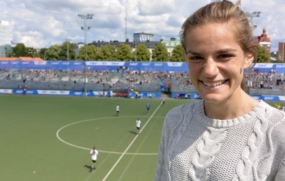 På torsdagen blev Sarah Mellouk klar för Kopparbergs/Göteborg FC. Foto: TORE LUND