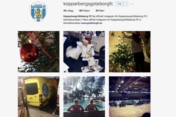 KGFC:s nya officiella Instagram. Här möter du spelarna bakom kulisserna och vid sidan om planen. Följ oss nu!