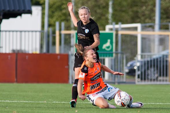 Nathalie Persson är tillbaka igen efter sju måndaders skadefrånvaro. Foto: PER MONTINI