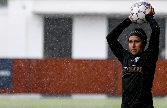 Catrine Johansson känner hur formen närmar sig allt mer efter en skadefylld första halva av säsongen. Foto: PER MONTINI