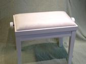 Reglerbar vit pall högblank 1500kr