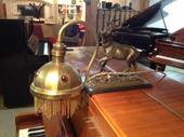 Unik pianobelysning med en hjort 3500kr
