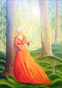The woman in the wood - Kvinnan i skogen