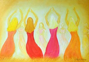 Dancing in the light -