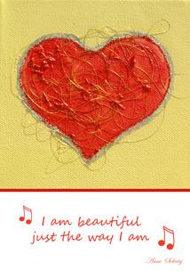 I am beautiful -