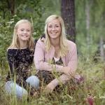 Nora 11 år & mamma Anna