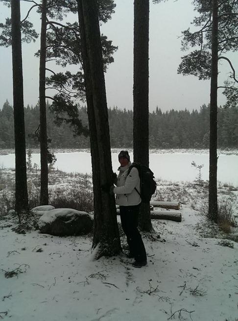 ForRest vid stugan i Simlångsdalen