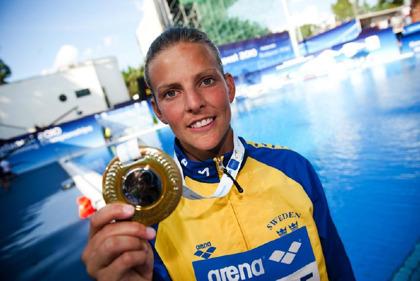 Anna Lindberg har dominerat svensk simhoppning många år och avslutade karriären efter OS 2012.