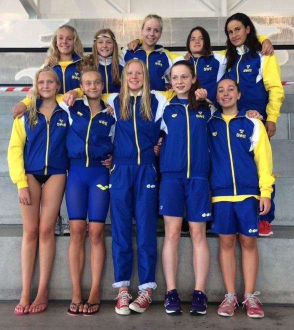 De svenska flickorna på NUM i Köpenhamn