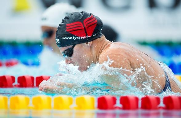 Rebecca Ejdervik - en av medaljaspiranterna på 50m bröstsim idag.