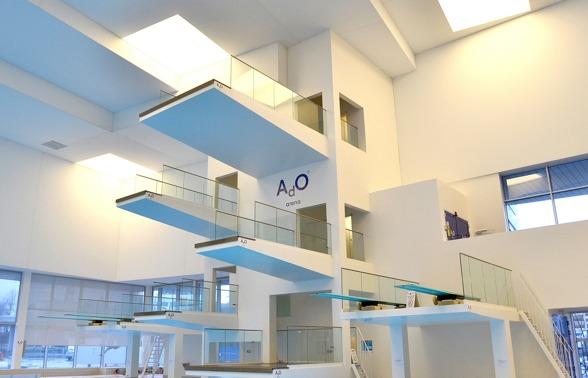 AdO arena i Bergen blev klart 2014 och döptes efter den norska framgångsrike bröstsimmaren Alexander Dale Oen.