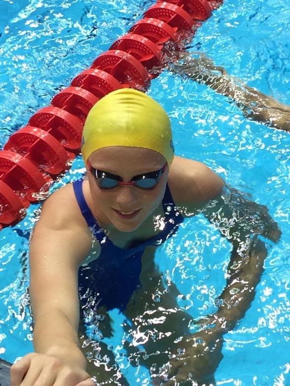 Sara Wallberg stod för den bästa svenska prestationen avslutningsdagen av simningen i Nanjing genom att bli nia på 200m bröstsim med 2.34.00