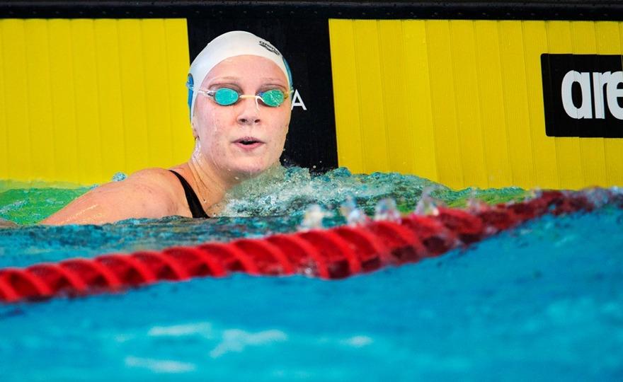 Sarah Sjöström simmade hem högsta poängen under GP i Stockholm
