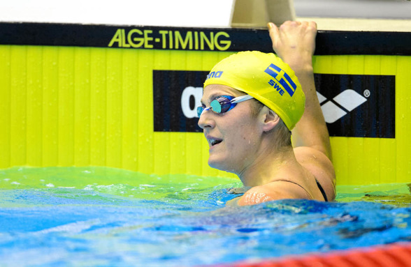 Stina Gardell gjorde en fin simning på 200m medley med personligt rekord idag.