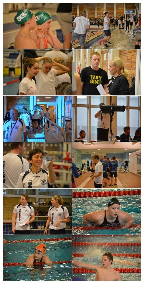 Här ett collage av bilder från Haninge under förmiddagen