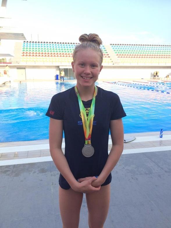 Andra medaljen för Hannah Brunzell