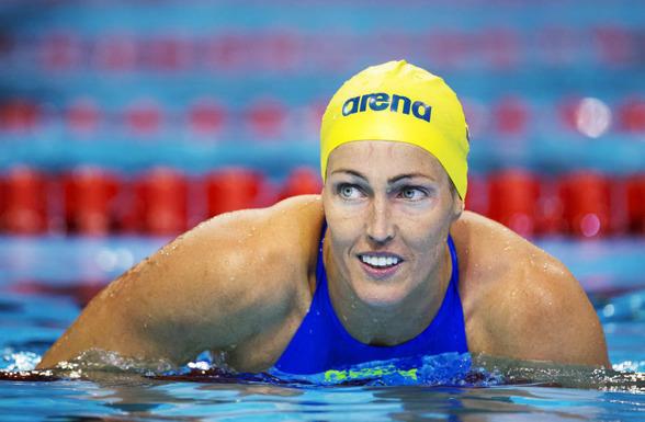 Therese Alshammar gick till final på 50m fritt