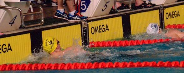 Jönköping: Tim Lärkfeldt vann 400m fritt i Region 4