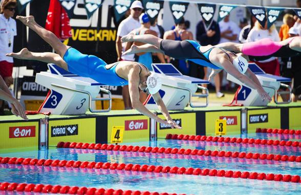 Jennie Johansson, Neptun är favoriten i kvällens 100m bröstsim damer