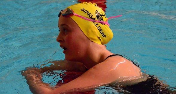 Jönköping: Annie Hegmegi, JSS vann gren 23 på hemmaplan.