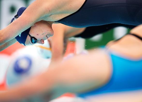 Sarah Sjöström vann 200m fritt första SM-dagen i Halmstad