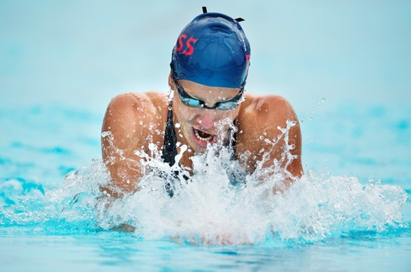 Joline Höstman vann 200m bröstsim klart idag