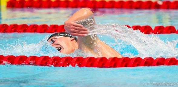 Adam Paulssons tredje SM-guld , nu på 1500m fritt.