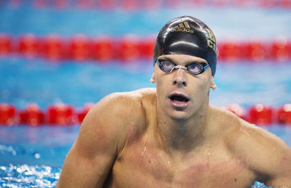 Cesar Cielo Filho vann till slut 100m fritt herrar