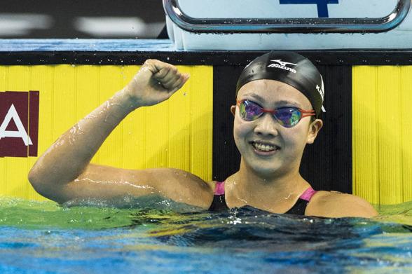 Wantanabe vann 200m bröstsim före Kaneto också från Japan