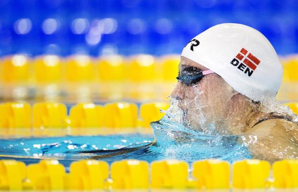 Danska Rikke Möller Pedersen dominerade inte försöken på samma sätt som i fjol.