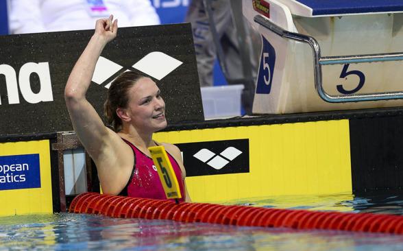 Jenna Laukannen vann sitt andra EM-guld