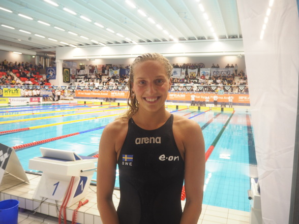 Jessica Eriksson vann SM på 200m bröstsim på en riktigt fin tid !!!!