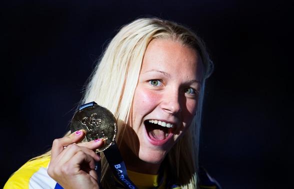 Andra VM-guldet till Sarah Sjöström