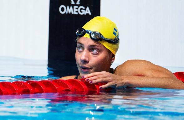 Joline Höstman missade vidare avacemang till semifinal på 100m bröstsim. Hon hade 1.08.63 och hon hade behövt 1.08.36